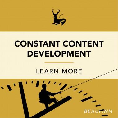 Constant Content Development